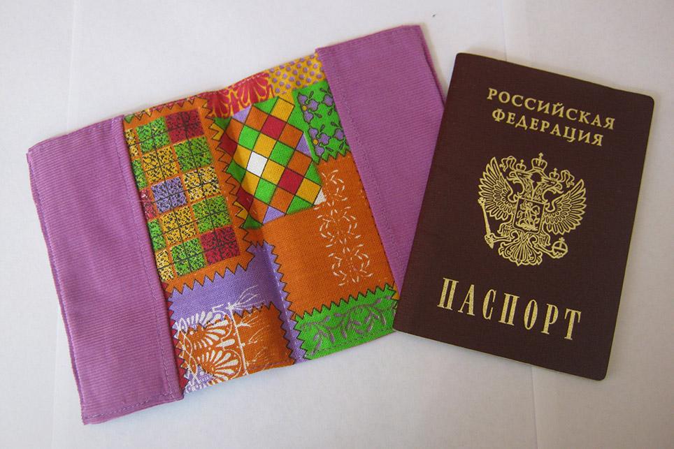 Обложка для паспорта своим руками 504